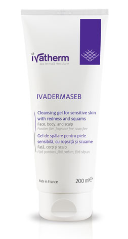 IVADERMASEB gel de spalare x 200 ml