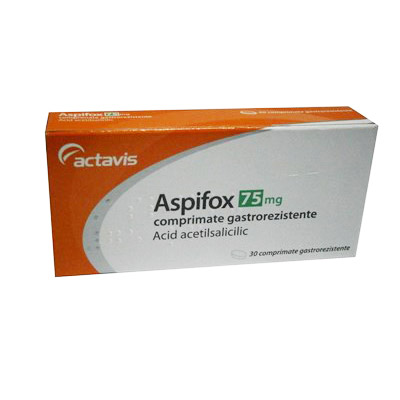 Aspifox 75mg x 30 comprimate