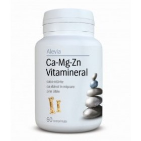 Ca-Mg-Zn Vitamineral 60 tb