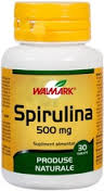 Spirulina 500 mg x 30 tablete