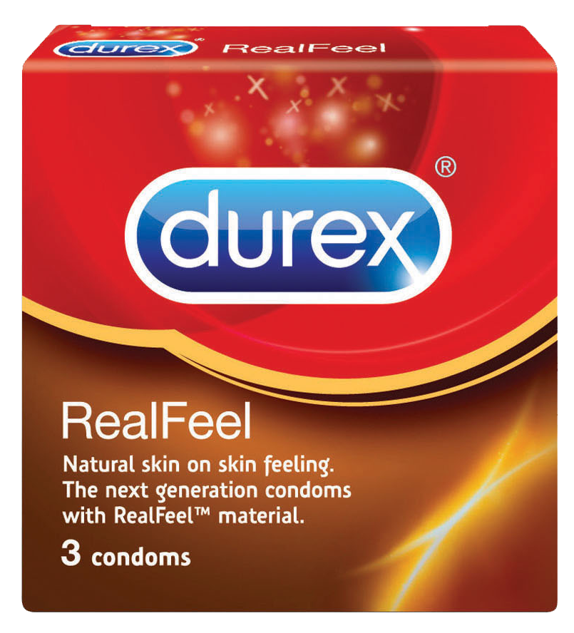 Durex Prezervative Real Feel x 3 buc