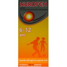 Nurofen Junior 200mg/5ml - aroma portocale