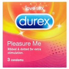 Durex Prezervative Pleasure Me x 3 buc