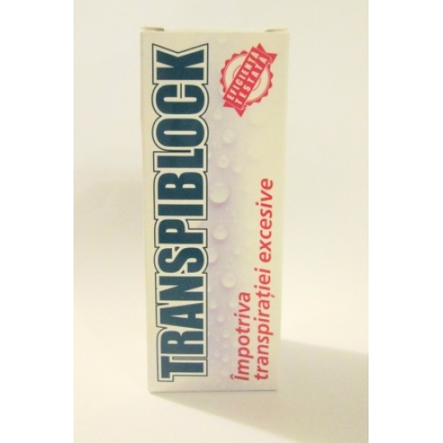 Transpiblock Roll-on antiperspirant