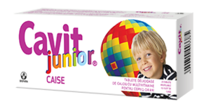 Cavit junior caise x 20 tablete
